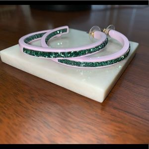 BaubleBar Gemstones Large Hoops